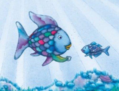 Der Regenbogenfisch (einfach erzählt)